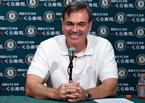 Oakland A's General Manager Billy Beane is widely known for his use of advanced metrics to consistently field competitive teams with low payrolls.